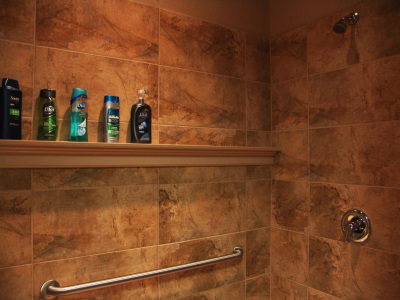 One of our private showers